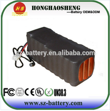 can be customized 12V /24V /36V 48V e-bike battery 24v lithium ion battery packs