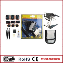 Bike bicycle roadside tire repair tool kit XH-2012