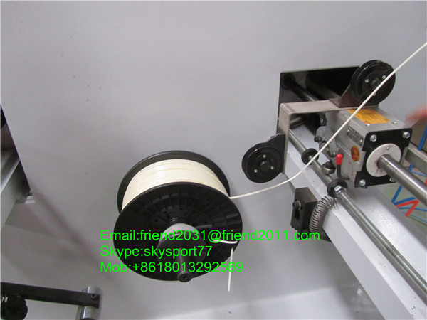 3D raw material extruder machine