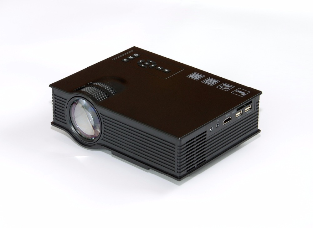UNIC UC40+ 800LM 800 x 480 Pixels Simplified Micro Projector for Home Business(US Plug)