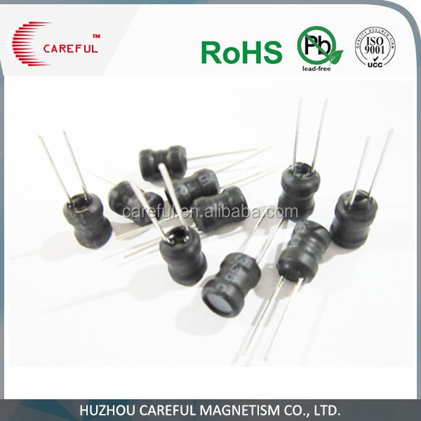 soft ferrite drum core power inductor 10uh