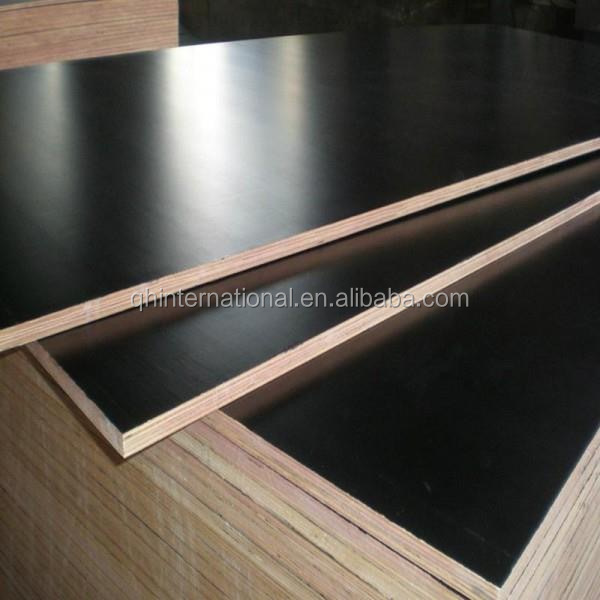 12mm 15mm 18mm 21mm black film faced birch plywood 1250*2500mm