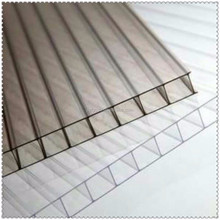 10mm anti-uv clear plastic honeycomb panel transparent corrugated roofing sheet