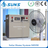 Complete 50W 60W 80W solar home lighting system,solar power for sale,solar system for fan