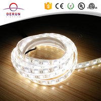 5000k 5050 smd flexible led strip light with 3m adhesive tape on the back