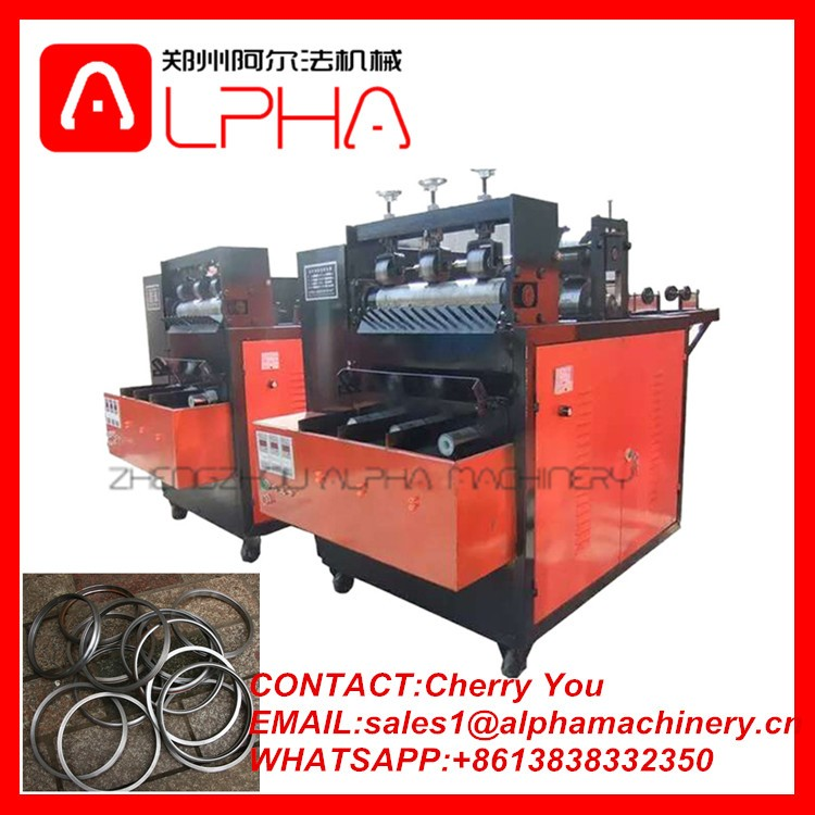 High quality stainless steel scourer ball making machine