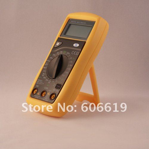 2000 counts low price digital multimeter With Transistor