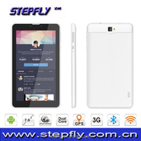 7 inch capacitive touch screen Android 4.4 WIFI Bluetooth dual sim 3G function video call android tablet pc