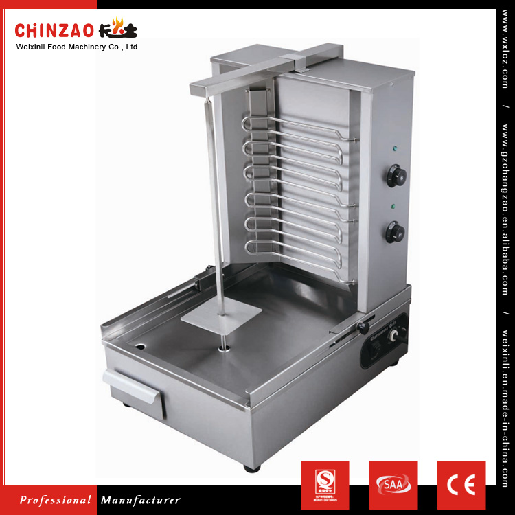 CHINZAO Top Selling Professional Automatic Electrical Kebab Maker Shawarma Grill Machine