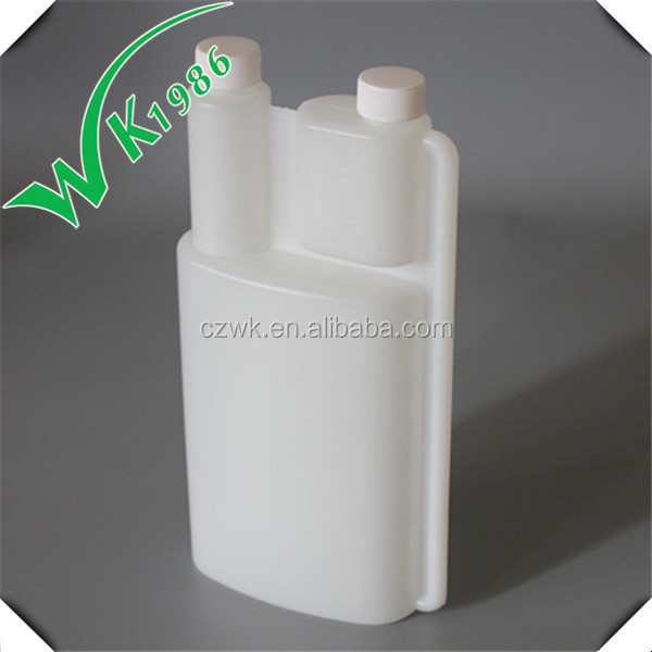 1000ml Quantitative double neck Dosing Bottle with100ml dosing