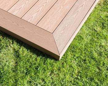 wood plastic composite laminated WPC outdoor flooring/decking/covering