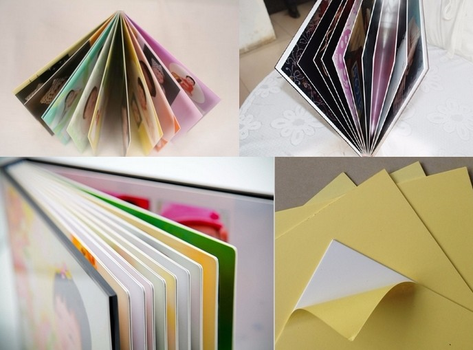 PVC album inner page