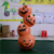 Factory Customized Inflatable Scary Halloween Pumpkin Light Decorations