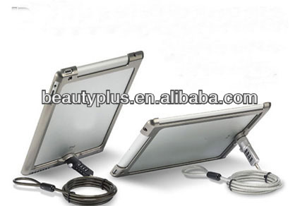 Tablet Security stand case with lock for display