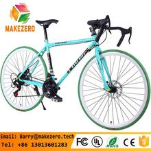 RB-2601 new style 60mm alloy rim colorful road bike/bicycle fixed/fixie gear bike , single gear speed