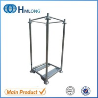 Warehouse steel portable stacking rack