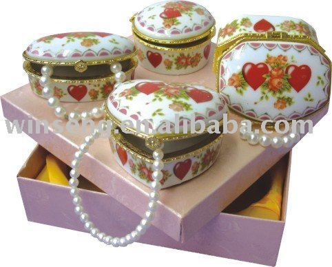 Hot Sale Ceramic Jewellery Box for promotion gifts