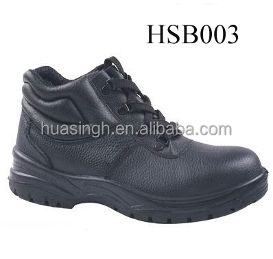 slip & heat resistant ankle work footwear security boots for oil field industry