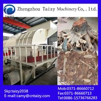 Wood root shedder equipments in China