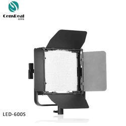 Top quality full function 600 LED 3200K-5600K studio video shooting led light