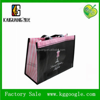 nonwoven matt lamination foldable shopping bags