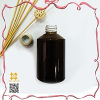 New form 200ml brown bottle shaped liquid air freshener bottle