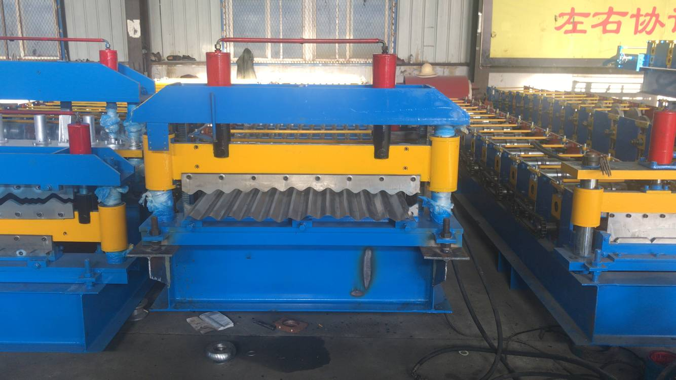 1200 Galvanized Tiles Making Machines, Roof Sheet Forming Machines, Corrugated Metal Roofing machine