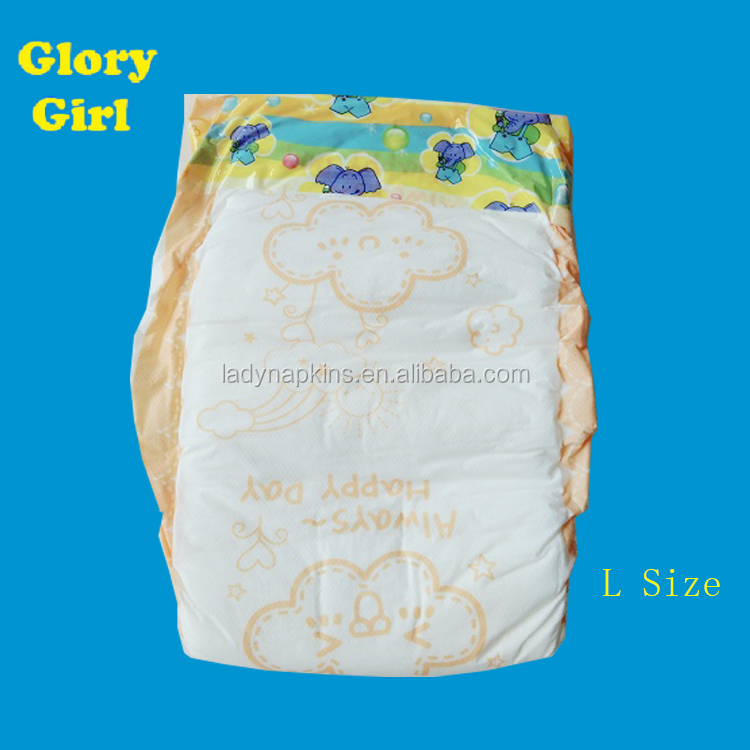 Super soft baby diaper used sleepy disposable baby diaper armpit absorbent diapers factory