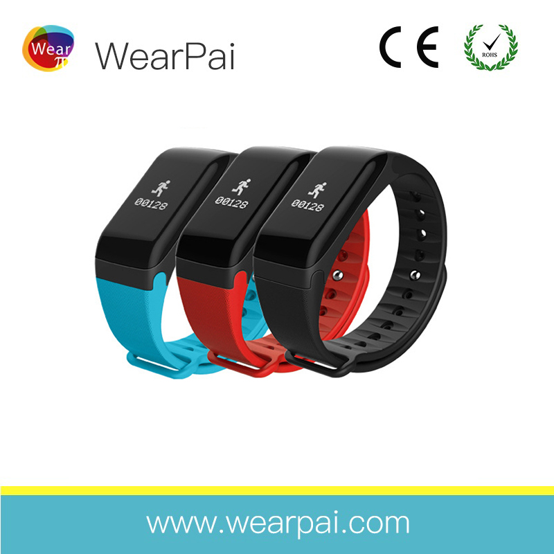 3 points sb charging waterproof IP67 fitness sports recording HR BP BLE 4.0 smart bracelet wristband