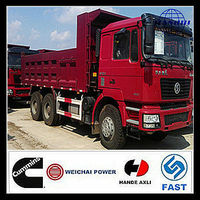 China shacman D-long F2000 10 tires tipper dump trucks for sale