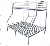 twin-full metal tube bed children living room furniture