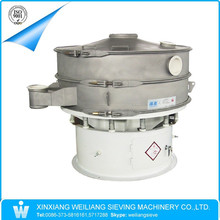fine powder SUS304 vibration screen classifier sifter