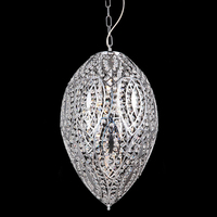 Silver Chain Chandelier Modern Design 71124