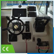 Modern New Style Fiberglass Pontoon Catamaran Fishing Boat Price