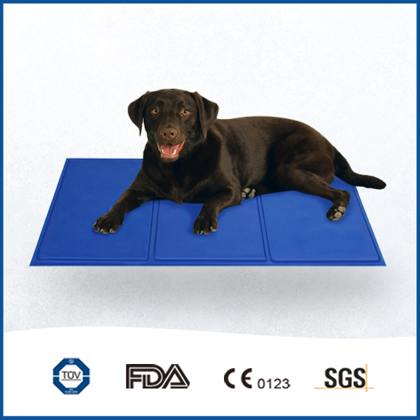 Blue Activated Cooling Dog Canine Pet Bed Cooler Mat Pad