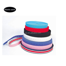 Factory directly sale colorful elastic webbing for garments
