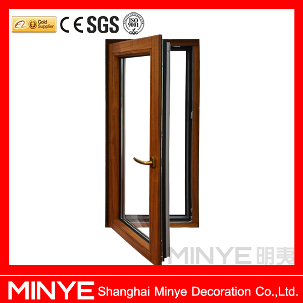 Cheap Price Aluminum Clad Wood Profilesingle Casement Doors Hot