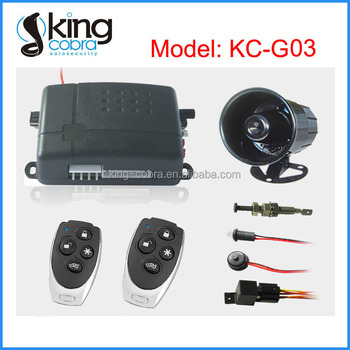 Anti-theft Electric Shock Car Alarm System Special for South America