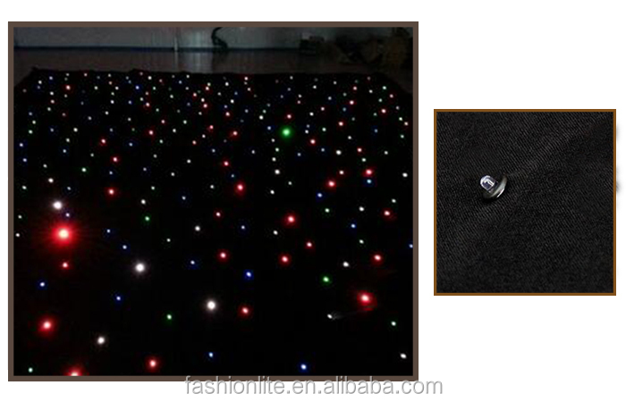 Stage Light/Disco Light P100 led video curtain cloth