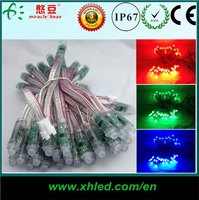 ws2811 programmable led dot pixel 12mm RGB pixel led with waterproof IP68 DC5V input