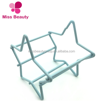 Miss Sponge New Arrival Cute Cosmetic Beauty Metal Sponge Holder from Professional Supplier