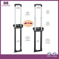 2014 high quality telescopic luggage handle trolley