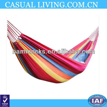 1pcs Fashion single thickening canvas outdoor hammock