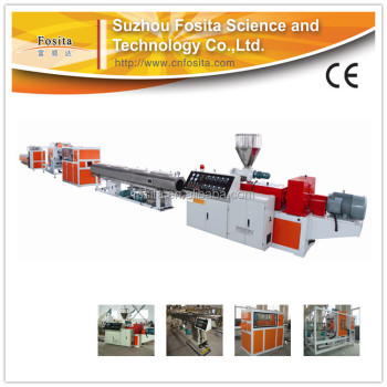 high efficiency 16-63mm pvc pipe plastic extruder machine sale