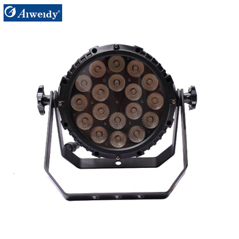 Aiweidy High Power 18*10W RGBW 4in1 Zoom waterproof IP65 led par light