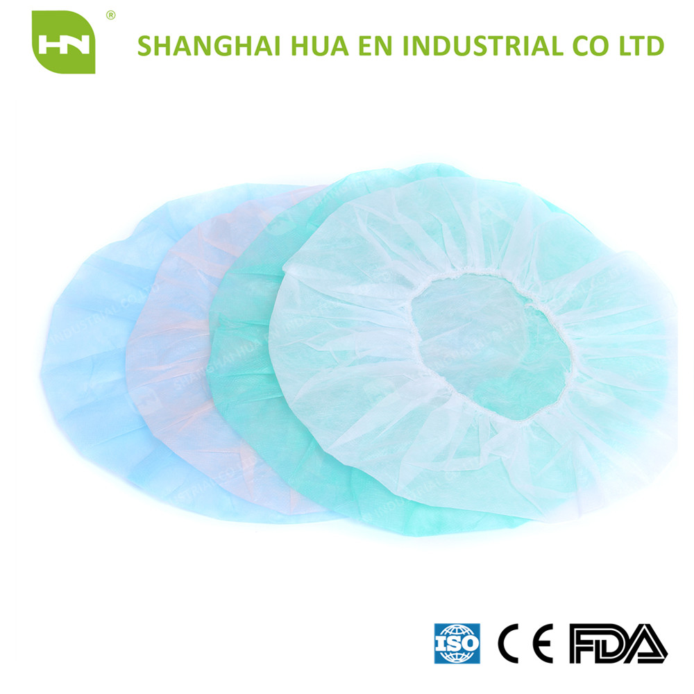 Different Colors For Disposable Nonwoven Round Cap