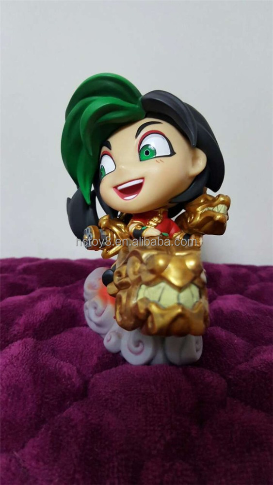The Loose Cannon Jinx Action Figure Painted Figure Jinx Cute Ver Dragon The Loose Cannon Doll PVC ACGN Figure Toy