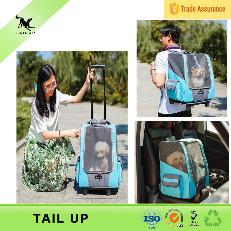 New Travel Pet Supplies Pet Carrier Backpack With Wheels