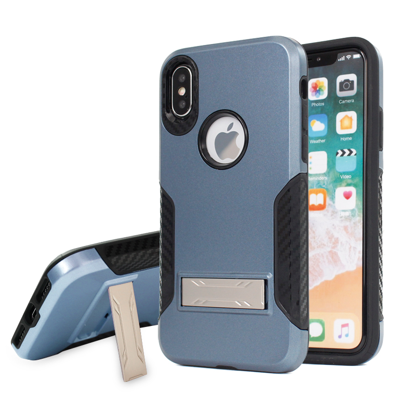 New hot products on the market anti radiation cell phone covers for iphone x,for iphone x case kickstand
