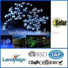 Cixi Landsign solar string lights series 4.5m 30 leds led mini copper wire string lights for holiday/garden decoration